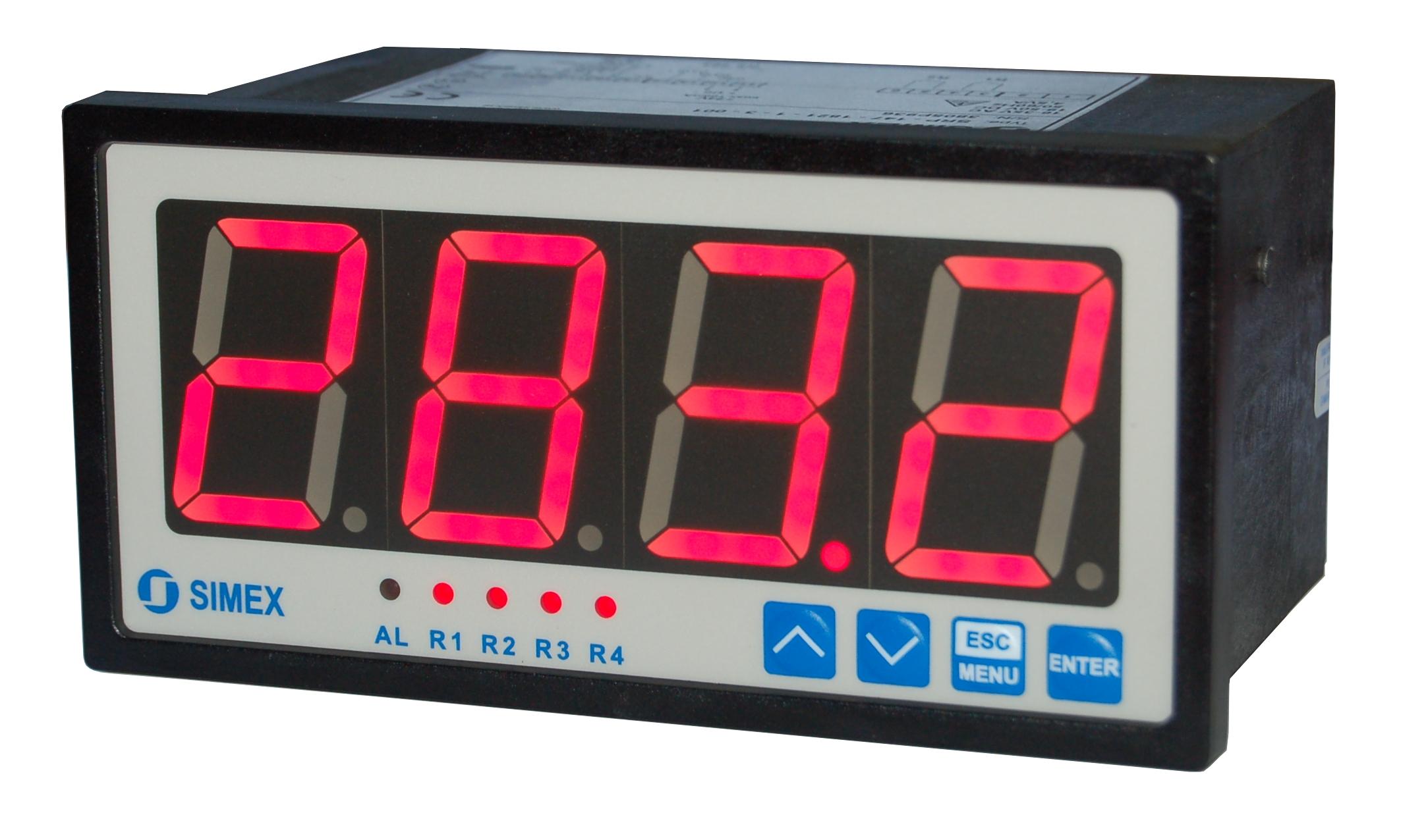 Digital Thermocouple Meter LED Display K-Type Industrial 30~800℃ Gauge CR